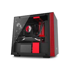 NZXT H200 (Black/Red/Transparent)
