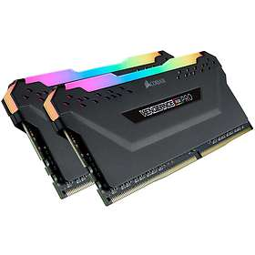 Corsair Vengeance Black RGB LED Pro DDR4 3200MHz 2x8GB (CMW16GX4M2C3200C16)