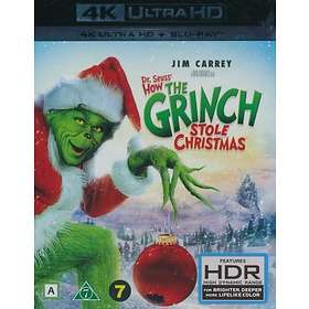 Dr. Seuss' How The Grinch Stole The Christmas! (BLU RAY)