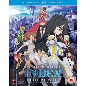 A Certain Magical Index: The Movie - The Miracle of Endymion (BD+DVD) (UK)