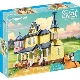 Playmobil Spirit Riding Free 9475 Lucky's Happy Home