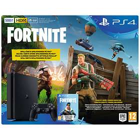 Sony PlayStation 4 Slim 500GB (inkl. Fortnite)