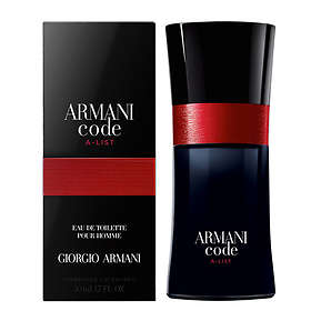 Giorgio Armani Code A-List edt 50ml