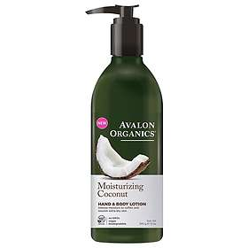 Avalon Organics Moisturizing Hand & Body Lotion 340g