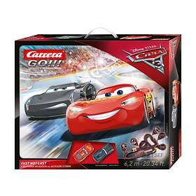 Carrera Toys GO!!! Disney/Pixar Cars 3 - Fast Not Last (62416)