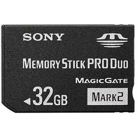 Sony Memory Stick Pro Duo Mark2 32GB
