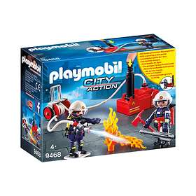 Playmobil City Action 9468 Firefighters with Water Pump