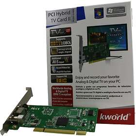 KWorld PCI Hybrid TV Card II PC231-D RDS