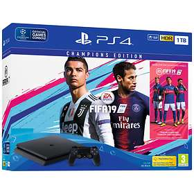 Sony PlayStation 4 (PS4) Slim 1TB (incl. FIFA 19 - Champions Edition)