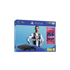 Sony PlayStation 4 (PS4) Slim 1To (+ FIFA 19)