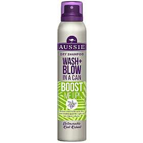 Aussie Wash Blow In A Can Dry Shampoo 180ml