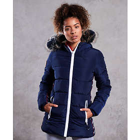 Superdry Streetwear Tall Repeat Puffer Jacket (Dam)