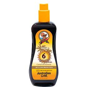 Australian Gold Sunscreen Oil Spray SPF6 237ml
