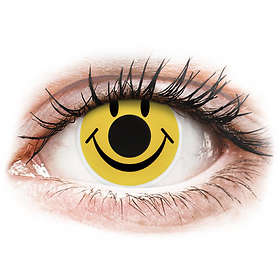 ColourVUE Crazy Lens Smiley (2-pack)