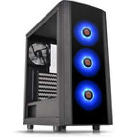 Thermaltake Versa J25 TG RGB (Black/Transparent)
