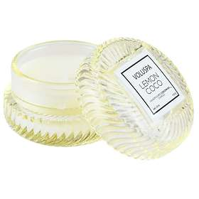 Voluspa 2 Wick Tin Table Candle Lemon Coco