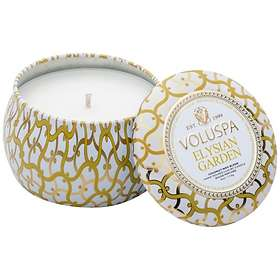 Voluspa Petite Decorative Tin Candle Elysian Garden