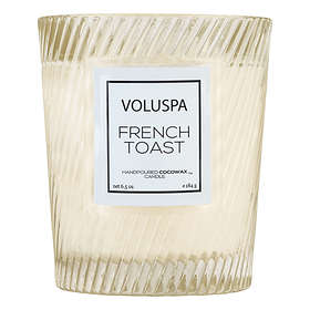 Voluspa Classic Textured Glass Candle French Toast