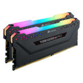 Corsair Vengeance Black RGB LED Pro DDR4 3200MHz 2x16GB (CMW32GX4M2C3200C16)
