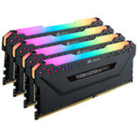 Corsair Vengeance Black RGB LED Pro DDR4 3200MHz 4x16GB (CMW64GX4M4C3200C16)