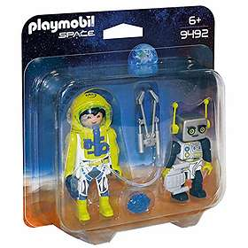 Playmobil Space 9492 Astronaut and Robot Duo Pack
