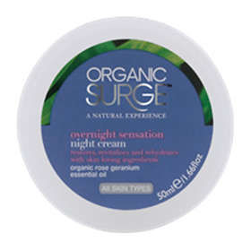 Organic Surge Overnight Sensation Night Cream 50ml