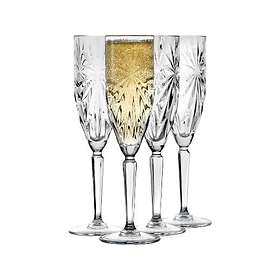 Lyngby By Hilfling Crystal Clear Symfonia Champagneglas 15,7cl 4-pack