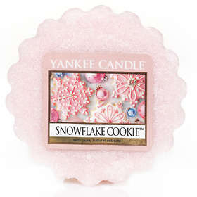 Yankee Candle Wax Melts Snowflake Cookie
