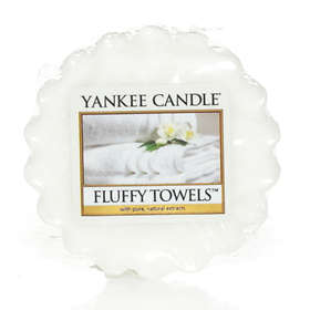 Yankee Candle Wax Melts Fluffy Towels