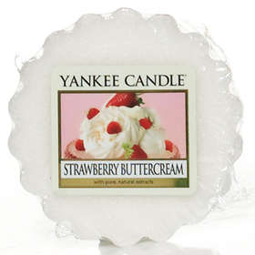 Yankee Candle Wax Melts Strawberry Buttercream