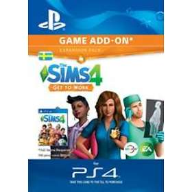 The Sims 4: Get to Work (Expansion) (PS4)