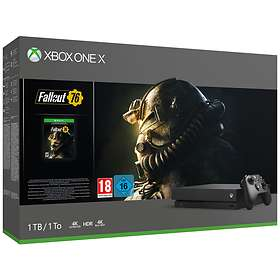 Microsoft Xbox One X 1TB (inkl. Fallout 76)