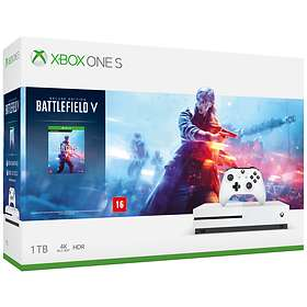 Microsoft Xbox One S 1To (+ Battlefield V - Deluxe Edition)