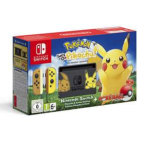 Nintendo Switch - Let's Go Pikachu Bundle