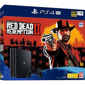 Sony PlayStation 4 (PS4) Pro 1TB (incl. Red Dead Redemption 2)