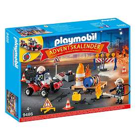 Playmobil Christmas 9486 Brandräddningsaktion Adventskalender 2018