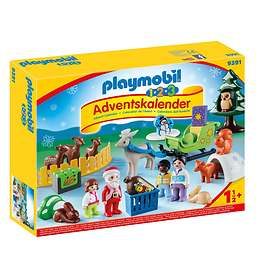 Playmobil 1.2.3 9391 Christmas in the Forest Advent Calendar 2018