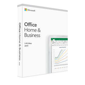Microsoft Office Home & Business 2019 Fin (PKC)
