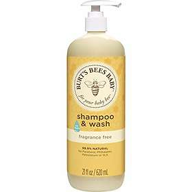 Burt's Bees Baby Fragrance Free Shampoo & Body Wash 620ml