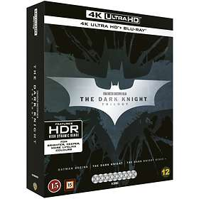 The Dark Knight Trilogy (UHD+BD)