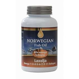 Norwegian Fish Oil Salmon Oil 350 Kapslar