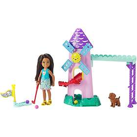 Barbie Club Chelsea Mini Golf Doll and Playset FRL85