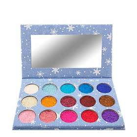 Smashit Cosmetics 15 Color Glitter Eyeshadow Palette