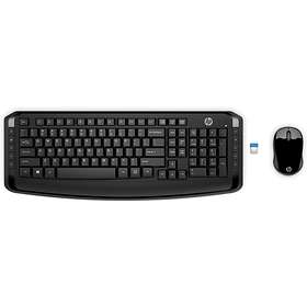 HP Wireless Keyboard and Mouse 300 (IT)