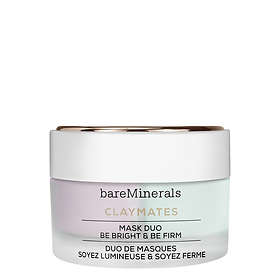 bareMinerals Claymates Duo Be Bright & Be Firm Mask 58g