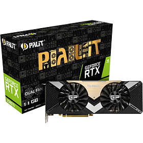 Palit GeForce RTX 2080 Ti Dual HDMI 3xDP 11GB
