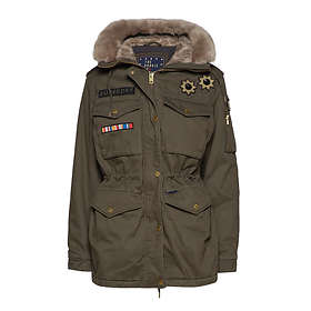 Superdry Rookie Rock Royalty Parka (Dam)