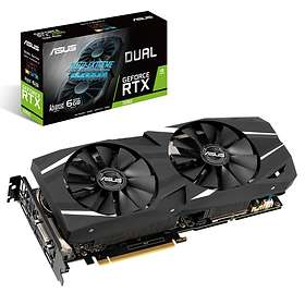 Asus GeForce RTX 2060 Dual Advanced 2xHDMI 2xDP 6GB