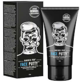 Barber Pro Face Putty Black Activated Charcoal Peel-Off Mask 90g