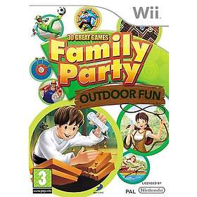 Family Party: 30 Great Games Outdoor Fun (Wii)